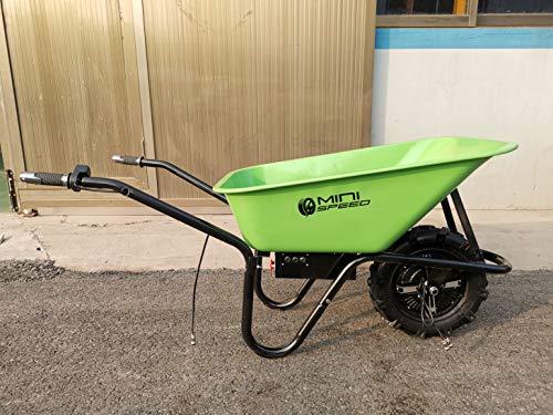ZIPPER ZI-EWB500LI Electric Wheelbarrow Practicalities