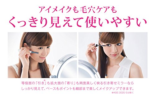 コイズミ拡大鏡LEDライト付き中型φ145mmKBE-3010/S