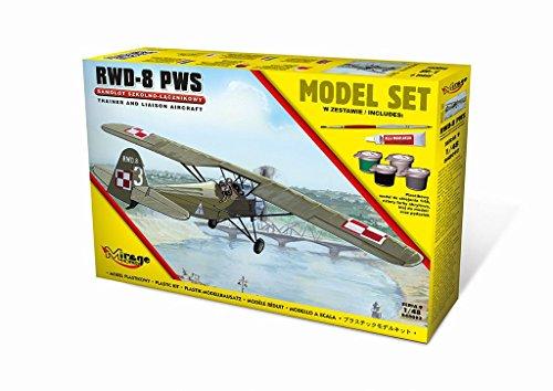 Mirage Hobby 848092 – Modélisme Jeu de r.w.d. 8 PWS Trainer A. Liaison Plan