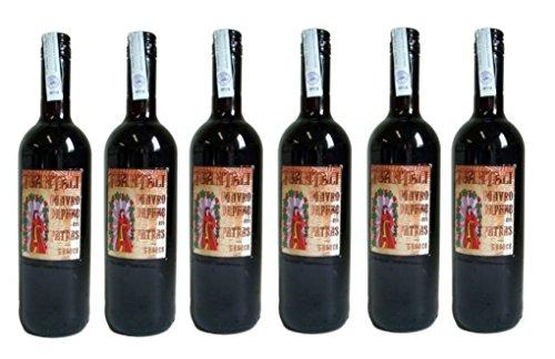 6x Mavrodaphne Rotwein lieblich Tsantali je 750ml/15% + 2 Probier Sachets Olivenöl aus Kreta a 10 ml - griechischer roter Wein Rotwein Griechenland Wein Set