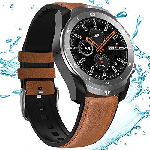 HQPCAHL Smart Watch Health & Fitness Tracker - Gran Capacidad de batería 560MAH, resolución HD 360 * 360, Pulsera Inteligente Impermeable IP68 para Mujeres y Hombres
