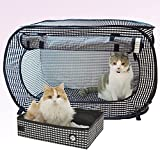 Necoichi Portable Stress Free Cage and Litter Box Set