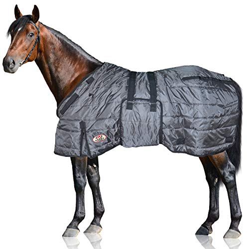 Derby Originals Wind Storm Closed Front 420D Winter Horse Stable Blanket 200g Insulation