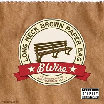 Long Neck Brown Paper Bag
