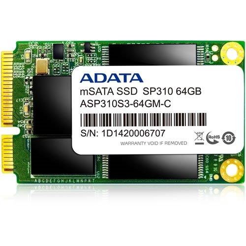A-DATA mSATA SSD ( 64GB SATA6G ) ASP310S3-64GM-C