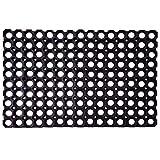SafetyCare Interlocking Rubber Drainage Floor Mat - Anti-Fatigue - 24 x 16 inches - 1 Mat