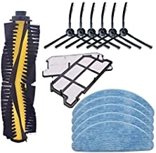 Vacuum Cleaners Filter Multi-Surface 1868 Brush Roller+Filter Compatible with Bissell Crosswave 1785 Series Vacuum Parts H...