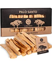 Palo Santo Smudging Sticks (20 Pack) — High Resin Incense Sticks for Cleansing, Stress Relief, and Meditation — Wild Harvested Smudge Sticks from Peru