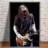 KWzEQ Leinwanddrucke Rockmusik Star Wandkunst Bild