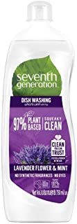 Seventh Generation Plant-based Dishwashing Liquid, Lavender & Mint, 750 ml
