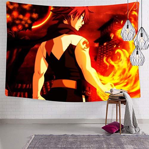 3354 Fa-iry Ta-il Break Out - Tapiz para colgar en la pared, suave y divertido, decoración estética para habitación de cama de 133 x 21 cm