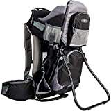ClevrPlus Canyonero Camping Baby Backpack Hiking Kid Toddler Child Carrier with Stand and Sun Shade Visor | 1 Year Limited Warranty