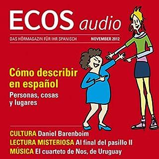 ECOS audio - Cómo describir en español. 11/2012 Titelbild