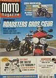 Moto Magazine - Comparatif roadster gros coeur - 185