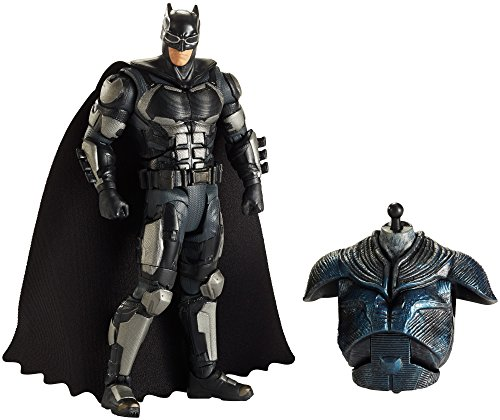 Mattel FHG06 - DC Multiverse Collector-Figur Justice League Movie Batman, 15 cm