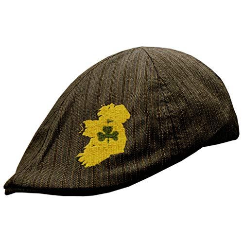 Celtic Clothing Company Irish Golf Hat, Jeff Cap Style, Lucky Irish Hat, One Size Fits Most.