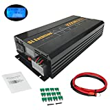 SL Euthtion 3000W Pure Sine Wave Power Inverter 12V DC to 120V AC 60HZ with LCD Display, USB Port, Solar, Outdoor