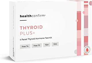 HealthConfirm Thyroid Hormone Balance Plus, Blood Collection Test Kit (4 Panel)