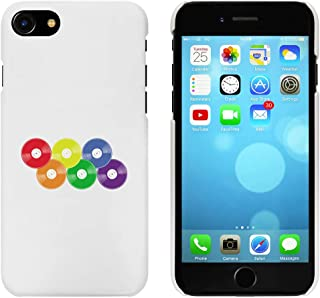 White 'Rainbow Vinyl Records' Case for iPhone 7 (MC00253286)