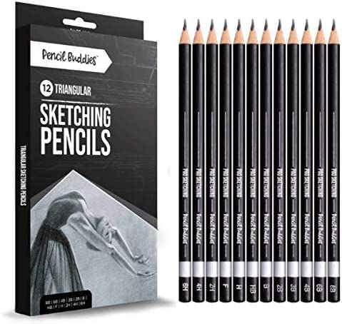 Pro Triangular Drawing Sketch Pencils Set Drawing Pencils for Artists Sketching Art Shading product image