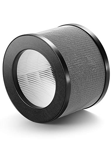 Elechomes Air Purifier EPI081 Replacement Composite Filter 3 Layer True HEPA and Activated Carbon Filters