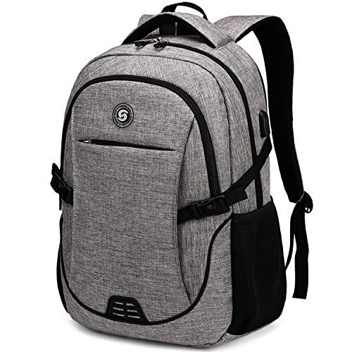 SHRRADOO Anti Theft Laptop Backpack Travel Backpacks Bookbag with usb Charging Port for Women