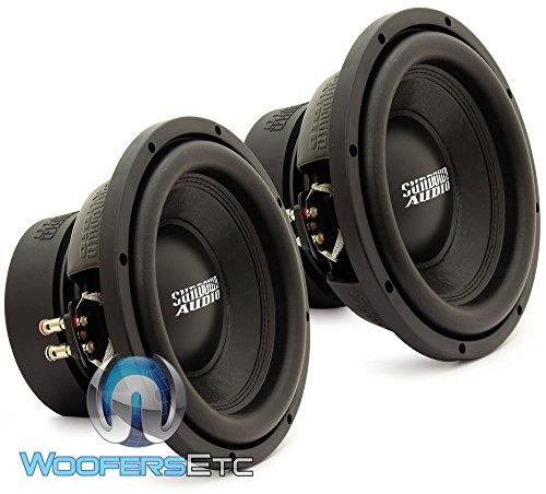 E-10 V.3 D2 Pair - Sundown Audio 10  500W RMS Dual 2-Ohm EV.3 Series Subwoofers