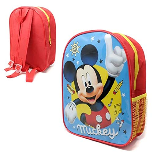 Mickey Mouse Light Backpack with Mesh Pocket