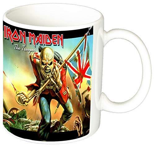 Iron Maiden The Trooper A Taza Ceramica 11 oz ≈ 325 ml