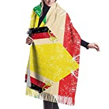 Bufanda de mantón Mujer Chales para, Mujeres Hombres Italia y...