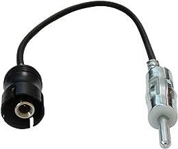 Aerzetix SK2C10008 Adaptateur DIN dAntenne Autoradio pour Auto Voiture