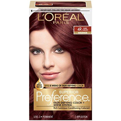 LOreal Superior Preference Hair Color, 4R Dark Auburn - 1 Ea (Haarfarbe)