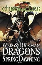 By Margaret Weis Dragonlance Chronicles Volume 3: Dragon's of Spring Dawning 2 HC (Dragonlance Chronicles (Devil's Du [Har...