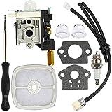 Dalom RB-K75 Carburetor w Air Filter Tune Up Kit for Echo Trimmer SRM210 SRM211 GT200 GT201 PE200 PE201 HC150 HC151 Weed Eater
