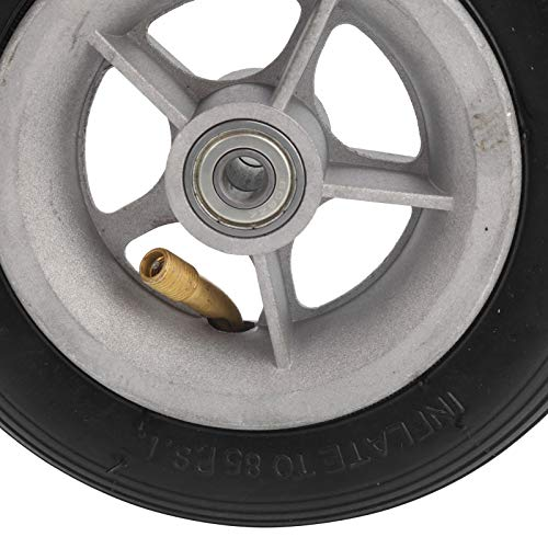 Archuu Neumático de Goma Inflable, neumático de Repuesto para Scooter eléctrico Antideslizante, Seguro y Resistente al Desgaste Rueda de Goma Inflable, para Accesorios de Ciclismo de Repuesto