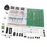 MagiDeal DIY PCB Placa De Circuito Digital Led Kits De Alarma De Reloj Electrónico Conjunto De 6 Dígitos