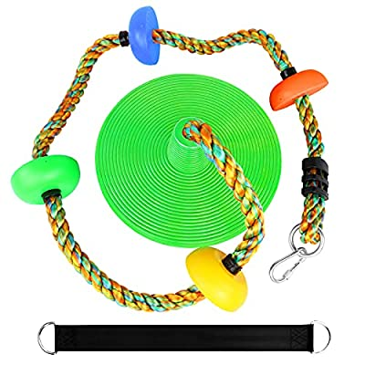 Amazon - 50% Off on Climbing Rope with Platforms and Disc Swing Seat Set