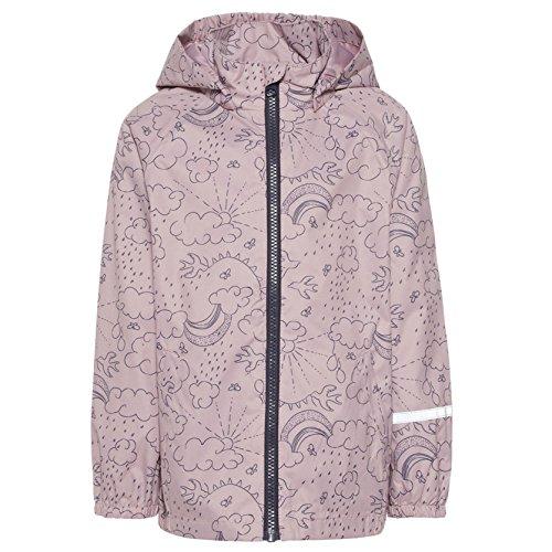 NAME IT Mädchen Regenjacke NMFMIST RAIN Jacket 13147226 Dawn pink Gr.92