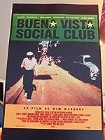 直輸入、小ポスター、米国版、「ブエナ・ビスタ・ソシアル・クラブ」ヴィム・ヴェンダース作品、6144