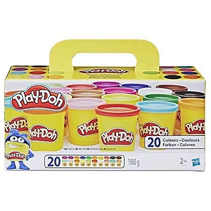 Play-Doh Super Farbenset (20er Pack), Knete für fantasievolles und kreatives Spielen 1