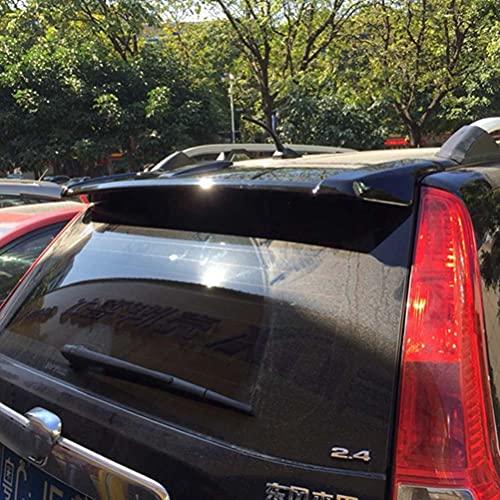Alerón trasero de plástico ABS para Honda CRV CR-V 2007 2008 2009 2010 2011, accesorios exteriores para coche, negro brillante