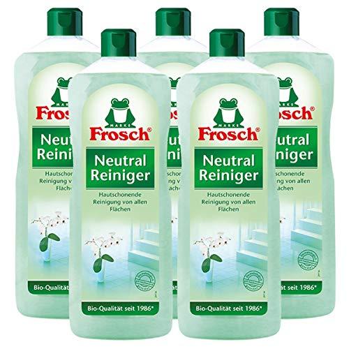 5x Frosch Neutral Reiniger1 Liter