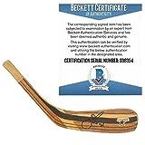 Joe Nieuwendyk Autographed Signed Dallas Stars Logo Hockey Stick Blade with Exact Proof Photo of Signing and...