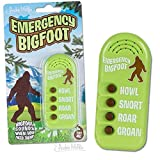 Archie McPhee Emergency Bigfoot Electronic Noisemaker,Multi-colored,One Size