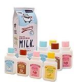 Aipark 8 pcs Bouteille de lait Style Rubans Correcteurs (couleur aléatoire)
