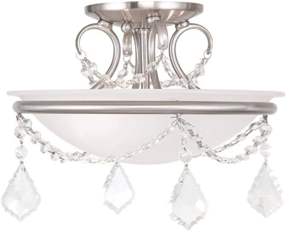 Livex Lighting 6523-91 Chesterfield Pennington Light specialty shop Ceiling New Free Shipping M 2