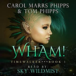 Wham! audiobook cover art