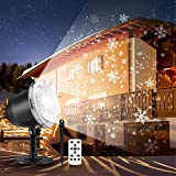 Snowfall LED Light Projector, 2019 Upgrade Christmas...