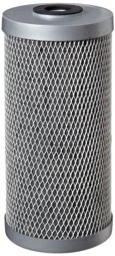 "Pentek - 455905-43 FloPlus-10BB Carbon Block Filter Cartridge, 9-3/4"" x 4-5/8"", 0.5 Micron"