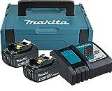 Makita 197952-5 Power Source Kit 18V 3Ah, 230 V, türkisschwarz